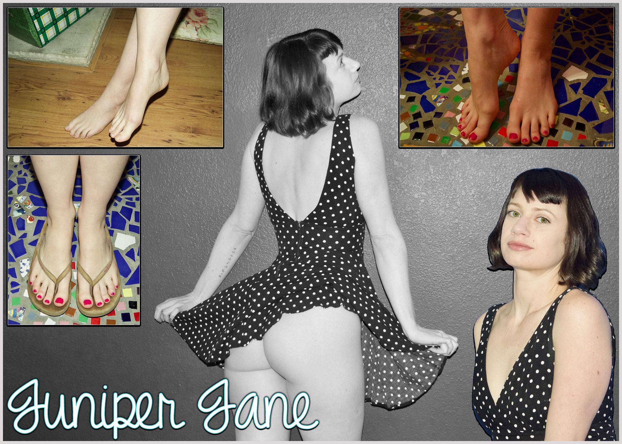 Juniper Jane Foot Fetish Model