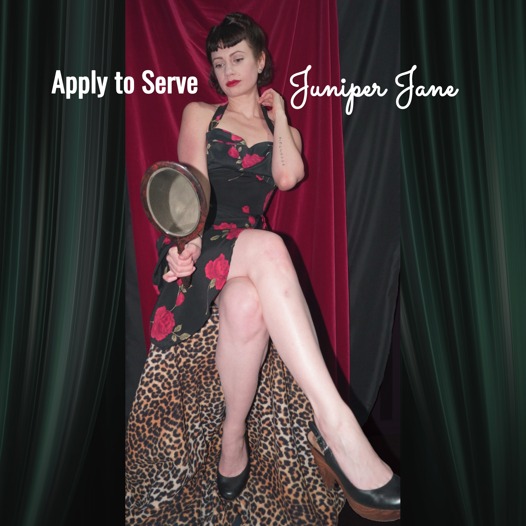 Apply to Serve or be Owned by Juniper Jane