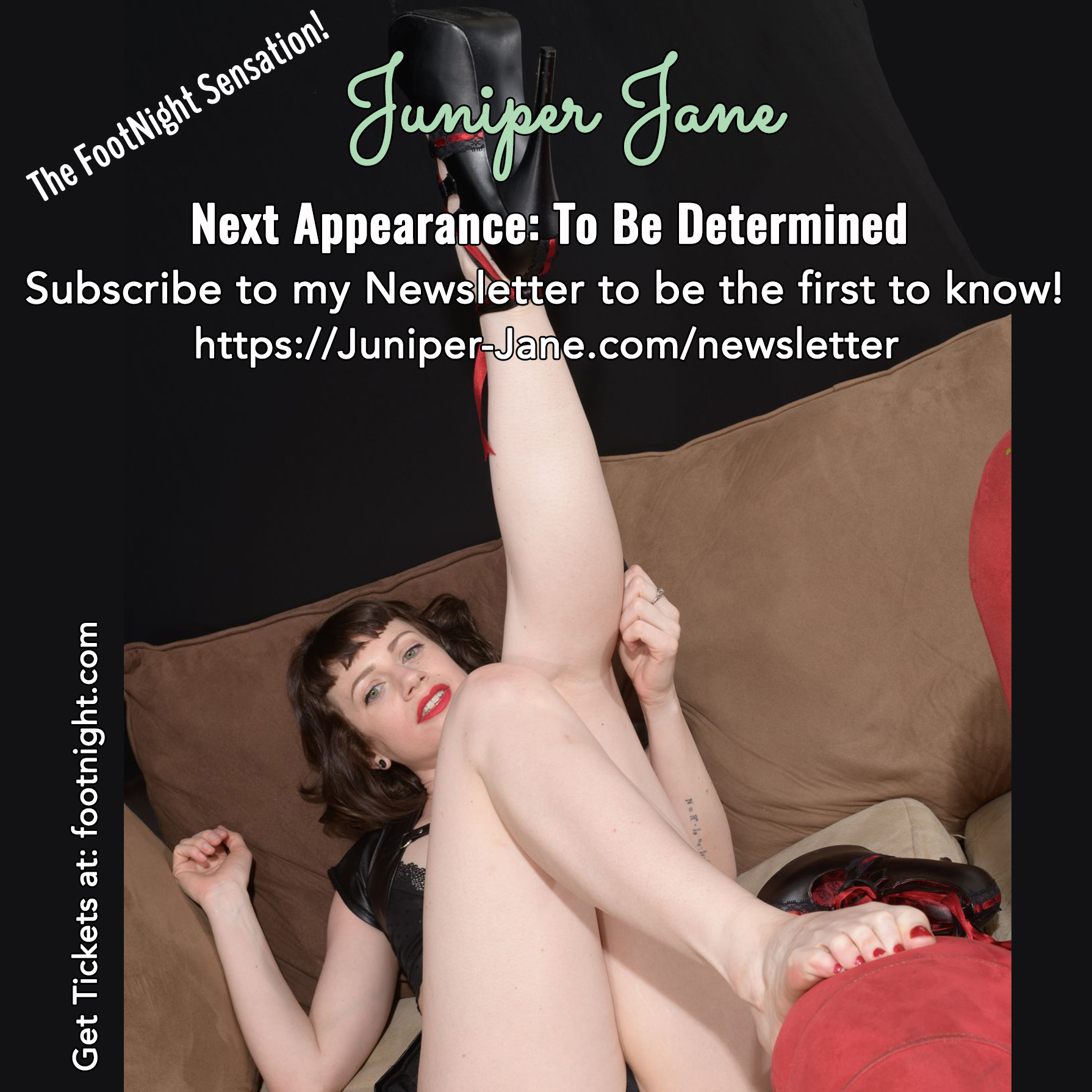 Footnight Juniper Jane | Foot Fetish Model